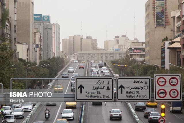 هوای تهران ناسالم برای گروه های حساس است