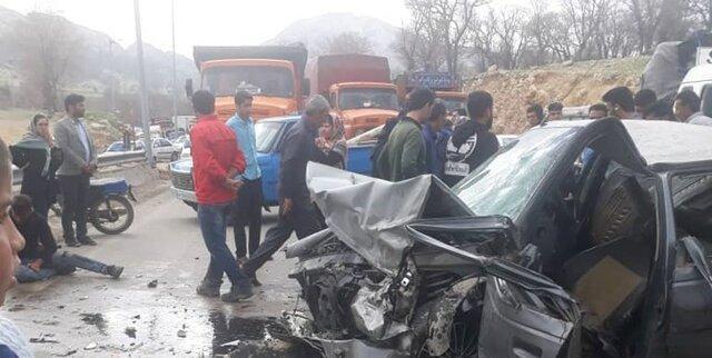 وقوع 3 تصادف با 20 مصدوم و 2 کشته در محورهای مواصلاتی کهگیلویه و بویراحمد