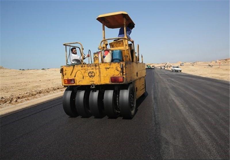 آسفالت 9 کیلومتر از محور ارتباطی و پرتردد طسوج در شهرستان چرام