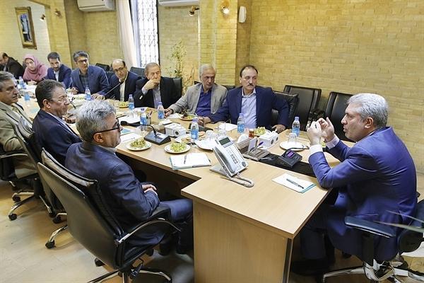 دیدار رئیس سازمان میراث فرهنگی با اعضای هیئت مدیره جامعه تورگردانان ایران