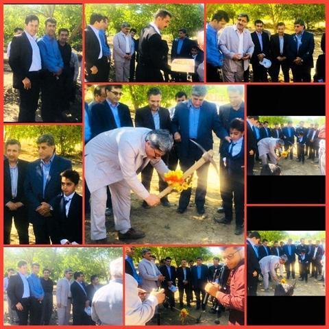 کلنگ زنی مجتمع گردشگری هه لو خان در شهرستان مریوان