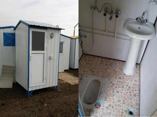 سرویس بهداشتی و دوش سیاردر ساحل دریاچه ارومیه نصب می گردد