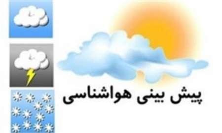رگبار باران همراه با رعد و برق در 6 استان کشور، آسمان پایتخت صاف است