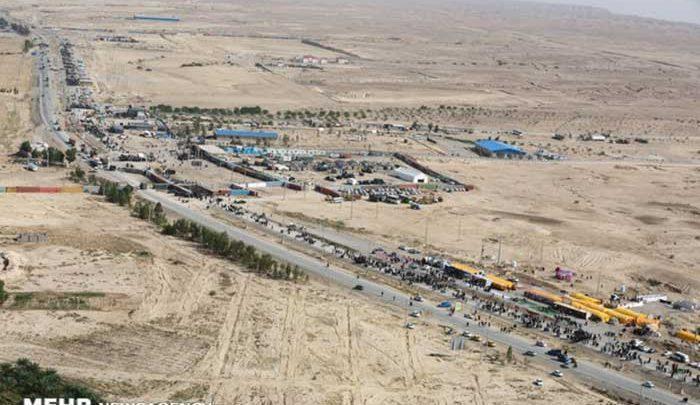 افزایش 240 درصدی خروج زائران از مرز بین المللی مهران