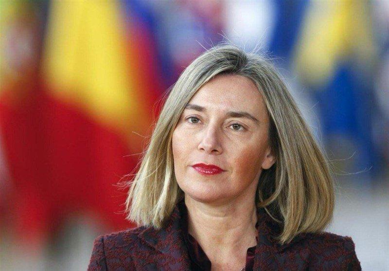 موگرینی: طرح فرانسه می تواند مکمل اجرای برجام باشد