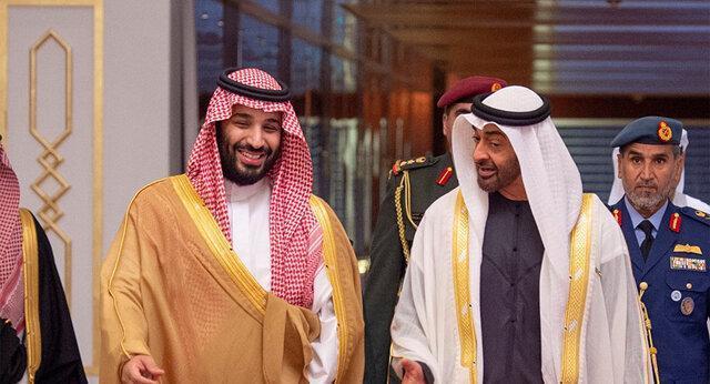اظهارات آتشین بن سلمان و بن زاید درباره حمله به آرامکو