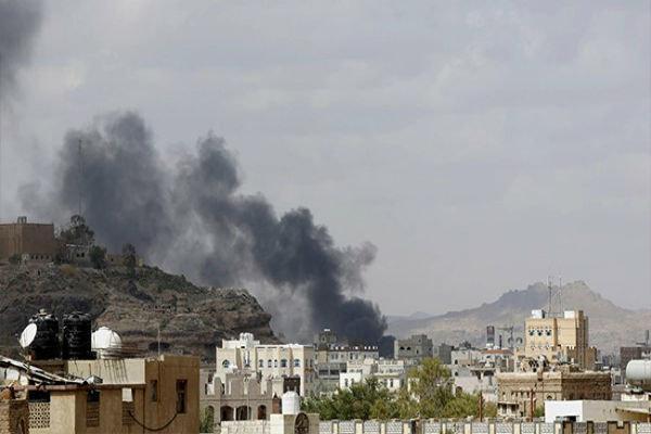 جنگنده های سعودی شهر حرض یمن را بمباران کردند