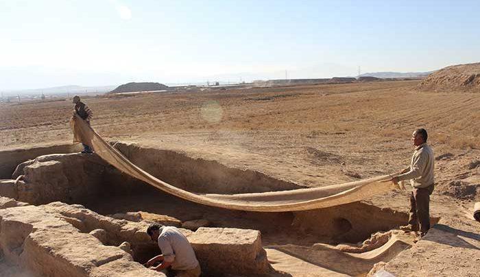 فصل هفتم پژوهش های باستان شناسی بین المللی در محوطه تاریخی ریوی شروع می گردد