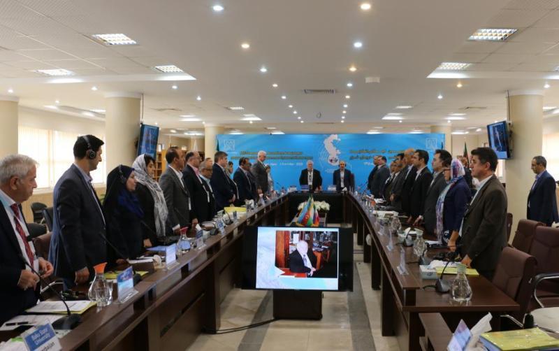 اجلاس رؤسای اتحادیه دانشگاه های دولتی حاشیه دریای خزر در دانشگاه گیلان شروع به کار کرد