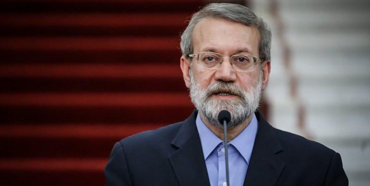 لاریجانی: از اظهارات بن سلمان درباره حل اختلافات با ایران استقبال می کنیم