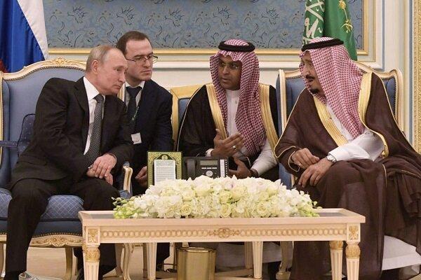 پوتین در دیدار با ملک سلمان بر تقویت همکاری با عربستان تاکید کرد