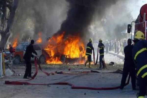 وقوع انفجار در یک انبار تسلیحاتی در جنوب بغداد، 13 نفر زخمی شدند