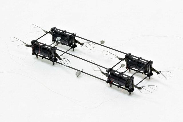 ساخت زنبورهای رباتیک برای استفاده در عملیات های امداد و نجات
