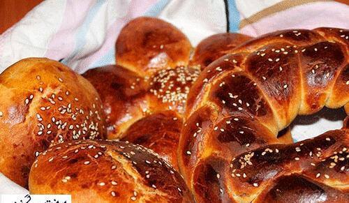 آشنایی با روش تهیه نان شیرمال