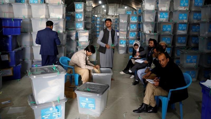 آراء در افغانستان بار دیگر شمرده می شوند