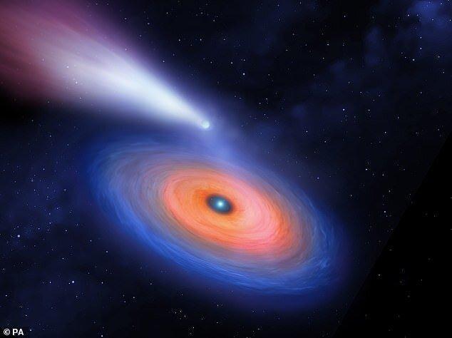 چرخش یک سیاره شبه نپتون به دور یک کوتوله سفید