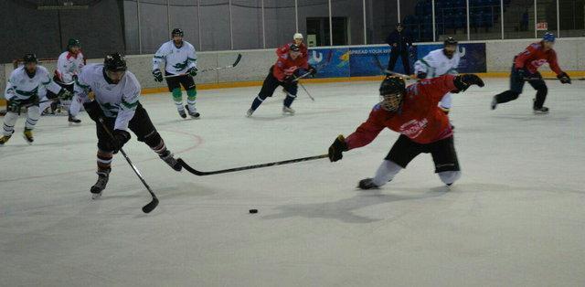 اولین حضور هاکی روی یخ ایران در بازیهای آسیایی زمستانی