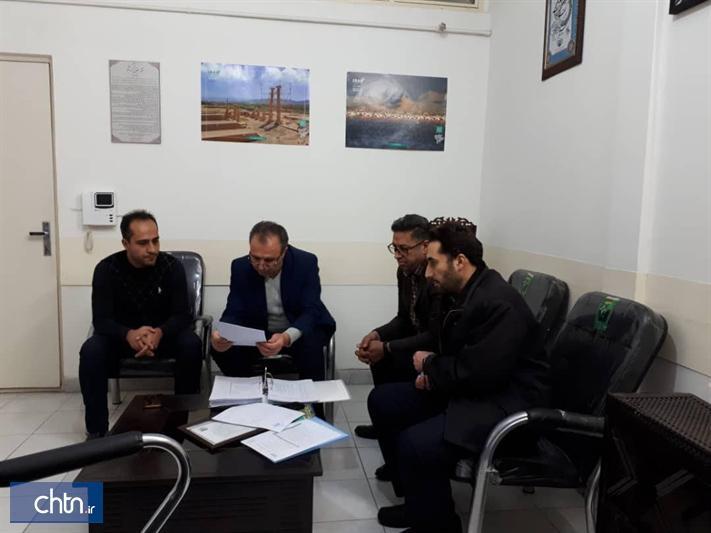 بازدید هیئت نظارت از آژانس های مسافرتی و دفاتر خدمات مسافرتی استان مرکزی