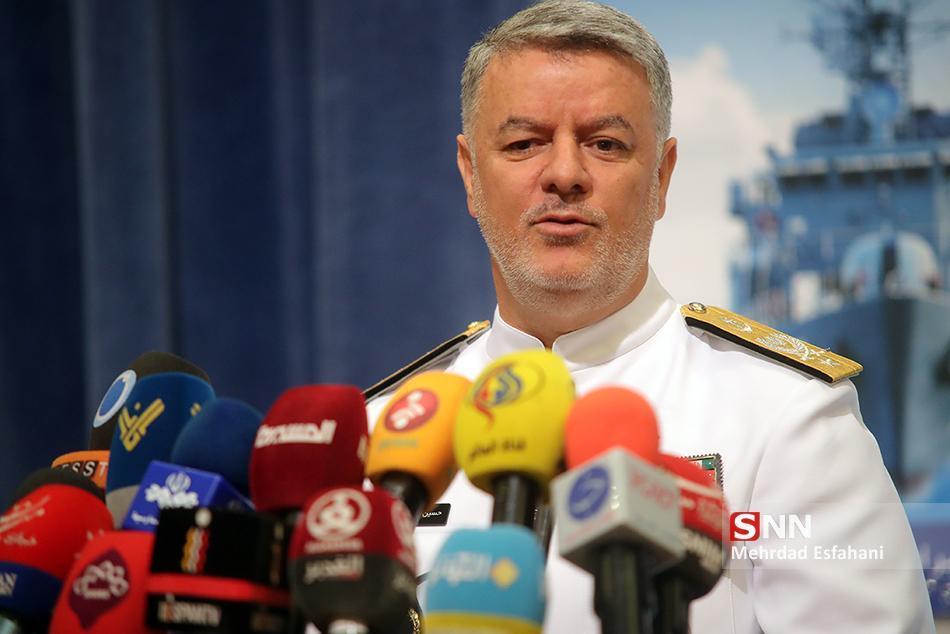 تاکید فرماندهان نیروی دریایی ایران و پاکستان بر گسترش روابط طرفین