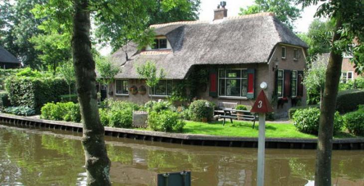 دهکده بدون خیابان در هلند