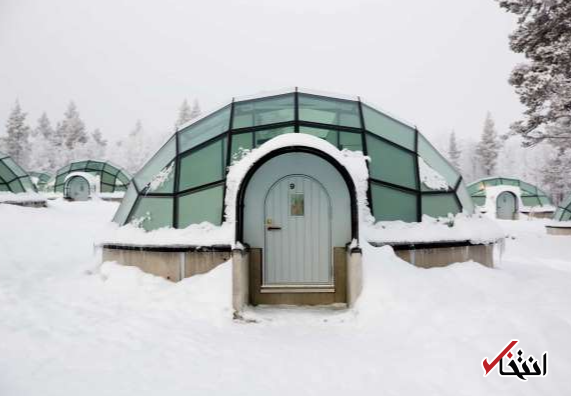 با یکی از زیباترین هتلهای یخی دنیا آشنا شوید