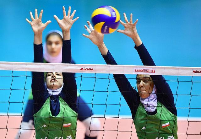 دختران والیبالیست ایران برابر ژاپن شکست خوردند