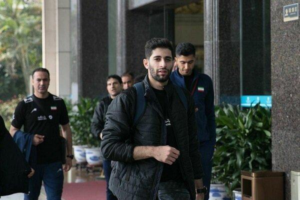 تیم ملی والیبال ایران به محل برگزاری مسابقات رسید