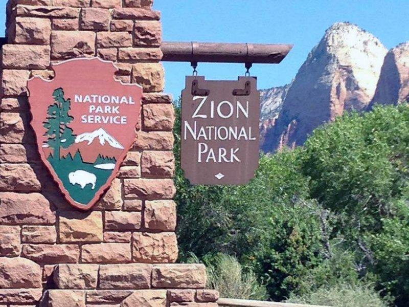 پارک ملی زاین-ایالت یوتا آمریکا -(Zion National Park)