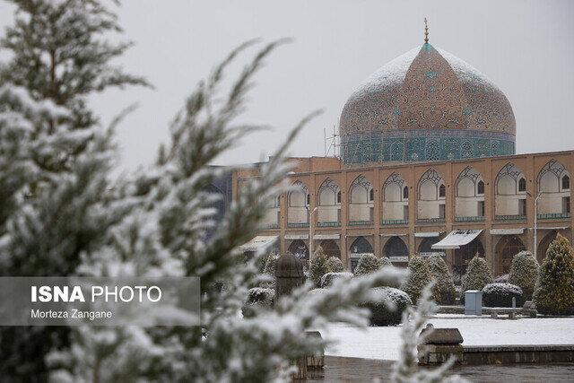 چرا برف روی گنبد شیخ لطف الله نمی نشیند؟ ، دوغاب مشکل دارد؟