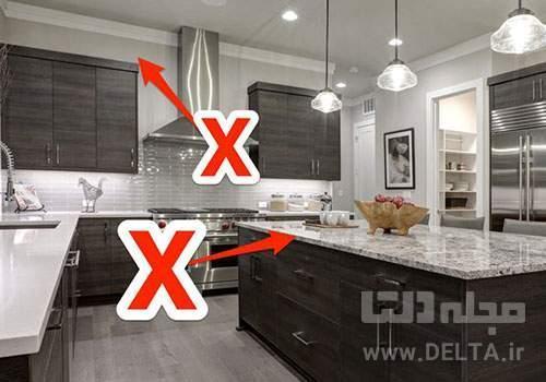 در دکوراسیون آشپزخانه این اشتباهات را نکنید