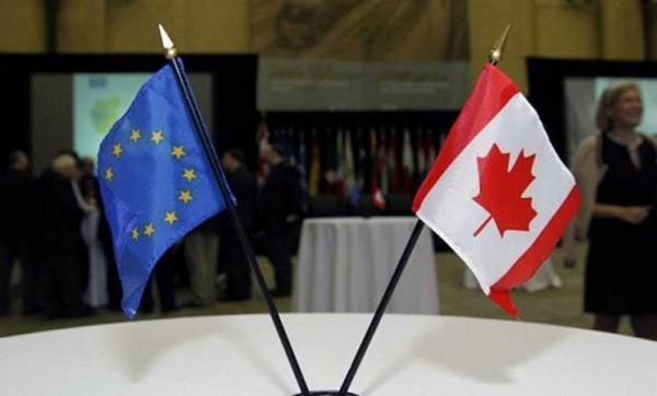 امضای توافق تجارت آزاد میان اتحادیه اروپا و کانادا