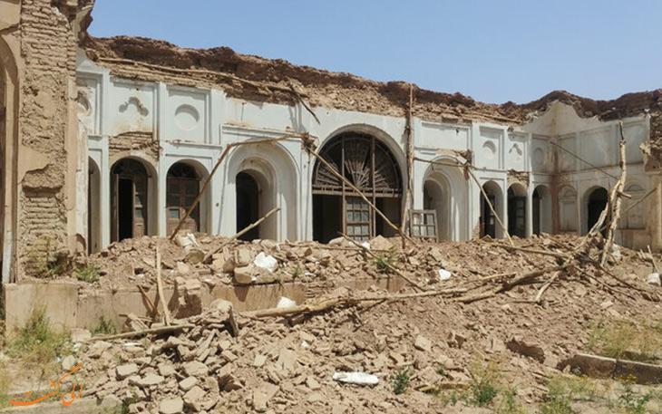 ساختمان تاریخی تیمو در کرمان قربانی بارش های اخیر