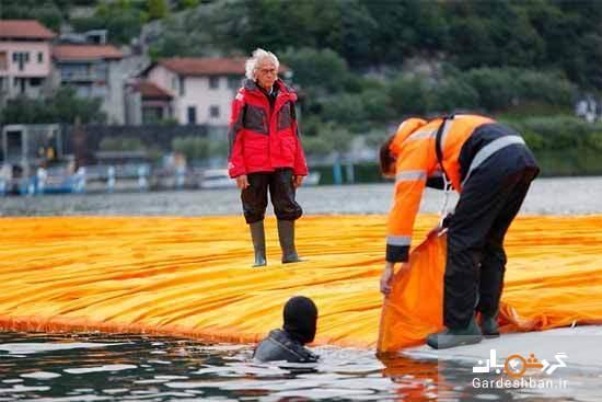 هیجان راه رفتن روی آب در ایتالیا