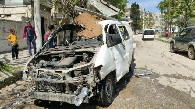 زخمی شدن یک تندروی خارجی در انفجار خودرواش در ادلب سوریه