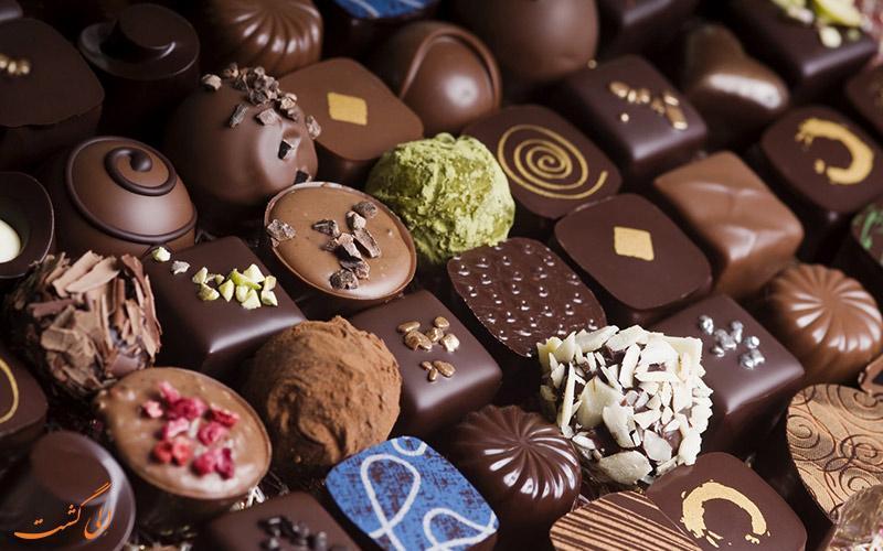 چرا به بلژیک، کشور شکلات می گویند؟