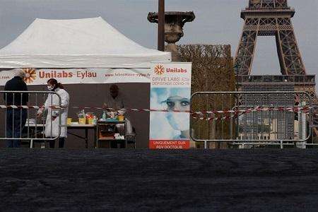 مرگ 531 نفر از بیماران مبتلا به کرونا در فرانسه طی 24 ساعت گذشته