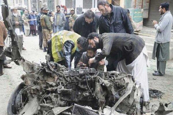 انفجار بمب در پاکستان 5 نفر را زخمی کرد