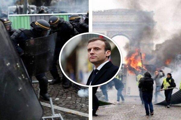 جلیقه زردها به خیابان های فرانسه بازگشتند