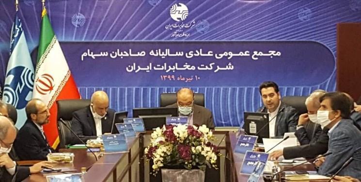 اختصاص سود 250 ریالی به ازای هر سهم شرکت مخابرات ایران برای سال اقتصادی 1398