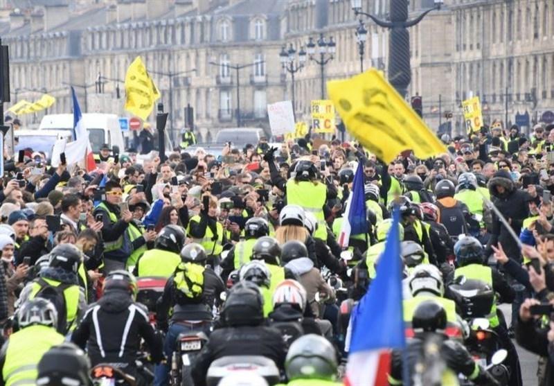 بازگشت جلیقه زردها به خیابان های فرانسه
