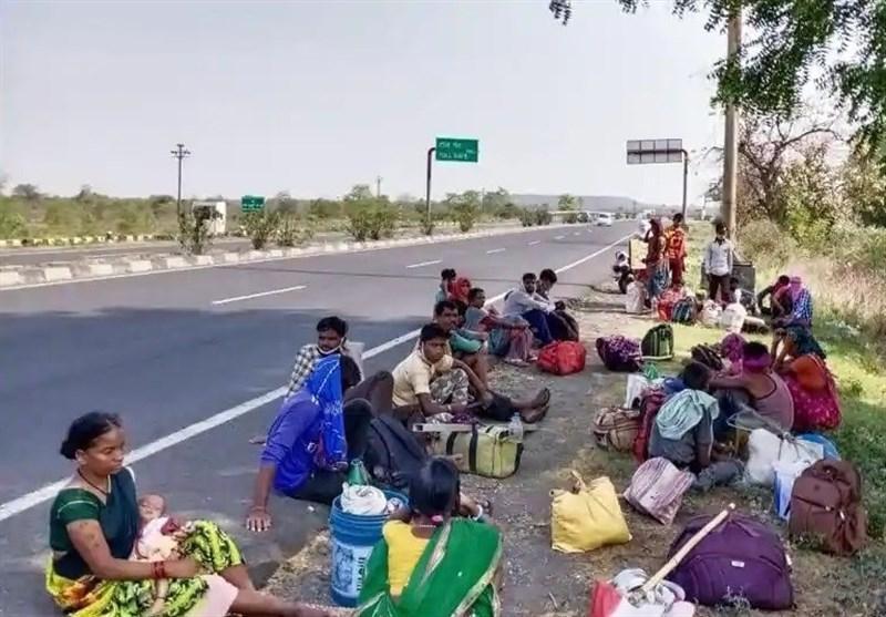 ضربه سنگین ویروس کرونا به اقتصاد هند