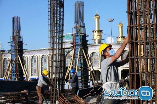 بازگشایی کارگاه طرح توسعه حرم امام علی پس از هشت ماه