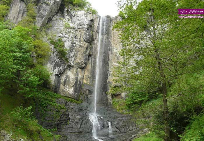 آبشار گردی در ماه های گرم سال