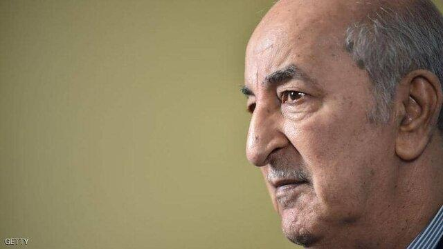 بهبود حال رئیس جمهوری الجزایر پس از ابتلا به کرونا