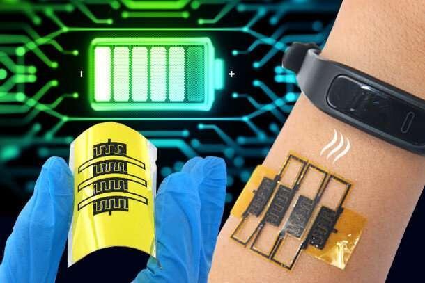 نفس بکشید تا ابرخازن&zwnjها را شارژ کنید ، میکروابرخازن&zwnjهای ارتقا یافته در دستگاه&zwnjهای پوشیدنی
