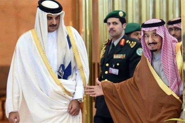 ملک سلمان از امیر قطر برای سفر به ریاض دعوت کرد