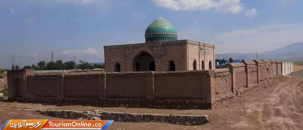 بازسازی دیوارهای اطراف مقبره رئیس المجاهدین