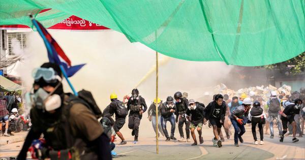 26 معترض در تعطیلات سال نو میانمار کشته شدند