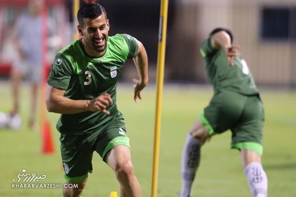 تعجب کاپیتان تیم ملی از شرایط آب و هوای بحرین