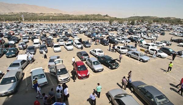 قیمت روز خودرو بررسی شد ، بازار بی مشتری با خودروهای گران!